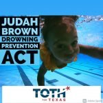 Judah Brown Project Drowing Prevention Act graphic from Representative Steve Toth