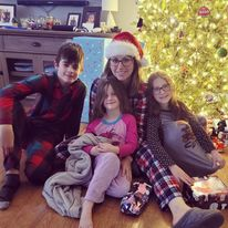 Lauren Page with Children