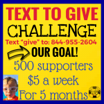Text to Give to donate